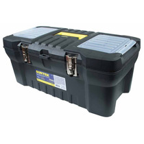 Cajas Plásticas C/broches Metálicos Y Organizador 125069 Vv4