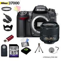 Camara Nikon D7000 + 18-55mm + 11 Accesorios