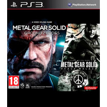 Metal Gear Solid V: Ground Zeroes + Peace Walker Ps3