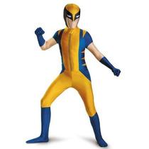 Disfraz Wolverine Niño 2014 Version De Lujo Talla (10/12)