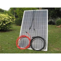 Kit 100 Watts Panel Solar Con 4 Focos Reflectors 10 Watts