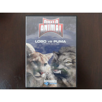 Dvd Documental Duelo Animal Lobo Vs Puma