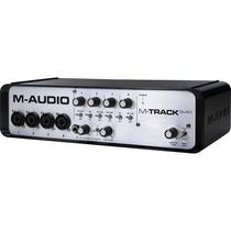 Interface De Audio M-audio M-track Quad Usb/midi Vv4
