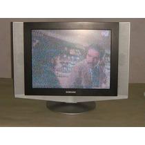Televisor Samsung Lcd 20 Pulgadas Funcionando, Usada