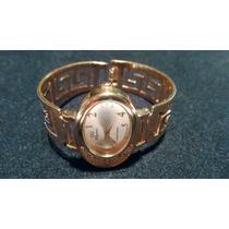 Hermoso Reloj Para Dama De Oro Laminado