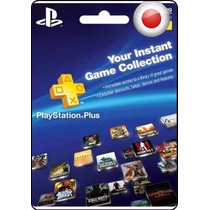 Tarjeta Gift Card Playstation Network Plus Japon 1 Año Ps4