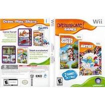 Drawsome Artist Y Drawsome Sketch Quest Wii Usado