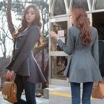 Abrigo Saco Irregular Moda Japonesa