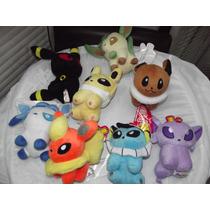Coleccion De 8 Peluches De Pokemon