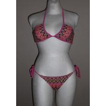 Joe Boxer!! Moderno Bikini, Diseño Tejido, Colores, Talla S