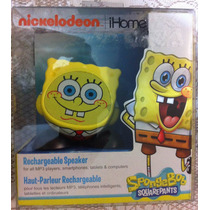 Ihome Bocina Para Iphone Ipad Ipod Mp3 Bob Esponja Hulk Mimi