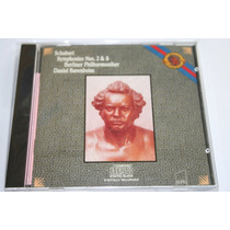 Opera Schubert - Sinfonias 2 Y 8 Barenboim Clasica Cd Vv4
