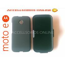 Clip Combo Funda Protector Motorola Moto E Negro Barato !!!