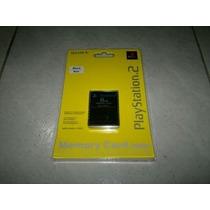Memory Card De 8mb Nueva Y Sellada Para Play Station 2