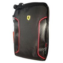 Ferrari Scuderia Negro 10 Pulgadas Morral Bolsa Ipad Tablet