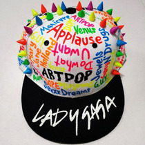 Gorra Personalizadas Lady Gaga Artpop Born This Way The Fame