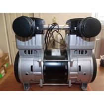Cabezal Compresor Libre Aceite 2 Hp Silencioso.tecnobombas