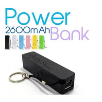 Batería Externa Recargable Power Bank 2600 Mah Rma