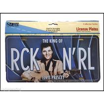 Placa De Elvis Presley Original Nueva