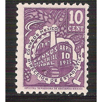 1935 Tractor Censos Industrial Ejidal Sc. 721 Mnh