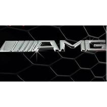Emblema Parrilla Mercedes Benz Amg Escudo Logo Parrilla Amg
