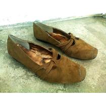Zapatos Valeria Cafe # 5 Retro,antro,hipie,rock,