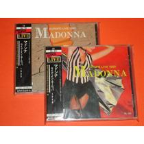 Madonna Live Blonde Ambition Tour 2 Cd´s Australia Obi Hm4