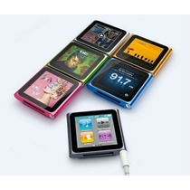 Reproductor Mp3 Mp4 6ta Generación 16gb Nano 1.8touch Screen