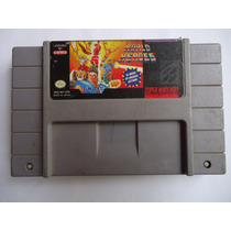World Heroes Para Super Nintendo Snes Buen Estado Peleas