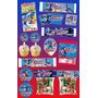 Kit Imprimible Capitan America Personalizado 30 Etiquetas