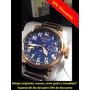 Invicta Relojes Aviator Reserve Leather Strap