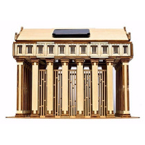 Rompecabezas 3d Solar De Madera, Templo De Zeus
