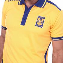 Tigres Playera Polo Jersey Futbol Clubes Amarilla Y Azul