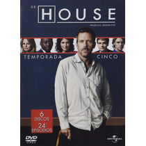 Dr. House Quinta Temporada 5 Cinco Serie De Tv En Dvd