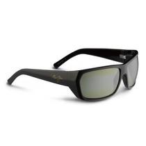 Gafas Maui Jim Ht265-02e Negro Oro Waimea Canyon Wrap Gafas