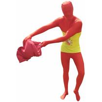 España Morphsuit Traje - Bandera Rot Xl Traje Bodysuit Depo