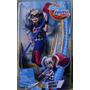 Harley Quinn Queen Muñeca Original Dc Super Hero Girls