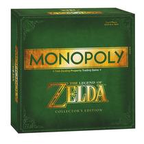 Monopoly Zelda Edición De Colección. Sólo En Gamers!