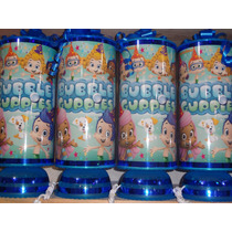 Bubble Guppies Centros De Mesa Recuerdos 1lamparar De Regalo