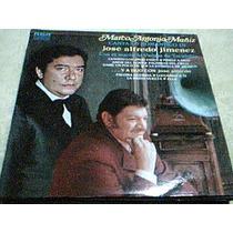 Disco Lp Marco Antonio Muñiz - Canta Lo Romantico De Jose A-