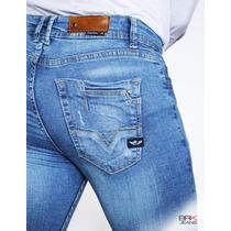 Jeans Caballero Corte Skinny Strech Nuevo - Envíogratis