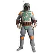 Disfraz Boba Fett Adulto Edición De Colección Star Wars