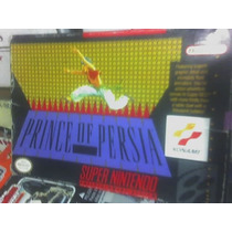 Prince Of Persia Con Caja De Super Nintendo