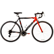 Gmc Denali 700c Hombres Bici De Ruta, Negro / Naranja 22.5
