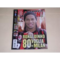 Revista Forza Milan Ronaldinho 2008