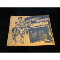 El Enamorado Pedro Infante Lobby Card Cartel Poster G