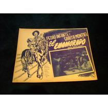 El Enamorado Pedro Infante Lobby Card Cartel Poster E