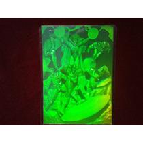 Rarísimo Holograma Polaroid De Los Avengers! (o )( O)
