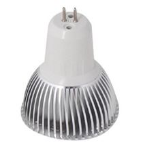 Lampara Led Spot Foco 8w Mr16 120v Blanco Calido- Puro