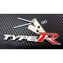 Type R Emblema Parrilla Honda Civic Accord City Fit